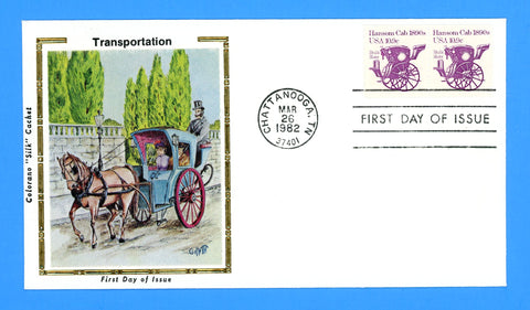Scott 1904 Hansom Cab First Day Cover by Colorano