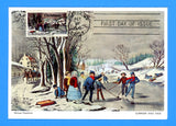 Scott 1702 Christmas Currier and Ives First Day of Issue Christmas Card
