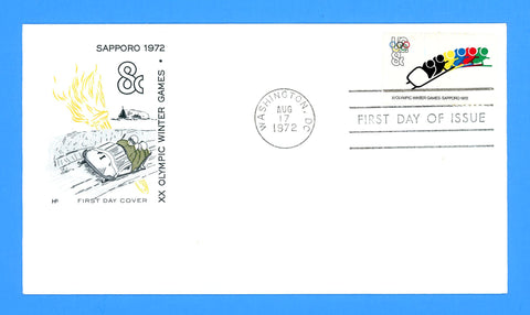 XX Olympic Winter Games First Day Cover by House of Farnum