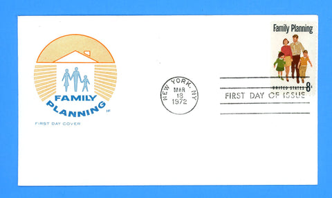 Family Planning First Day Cover by House of Farnum