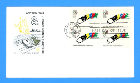 XX Olympic Games Winter First Day Cover by House of Farnum