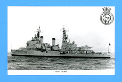 HMS Blake C99 Unused Postcard by Gale & Polden (Blank Back)
