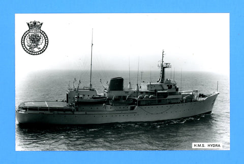 HMS Hydra A144 Unused Postcard by Gale & Polden (Blank Back)