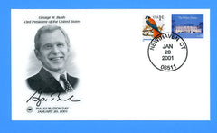 George W. Bush Inauguration Day January 20, 2001 by Postal Commemorative Society