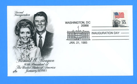 Ronald Reagan Inauguration Day (Public) January 21, 1985 by Artcraft