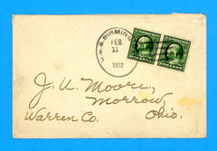 USS Birmingham CS-2 (Scout Cruiser) Sailor's Mail February 11, 1912