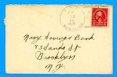 USS Bobolink AM-20 Sailor's Mail March 14, 1928