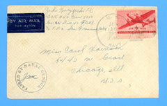 USS LCT-947 Crew 5010, Flotilla 8 Sailor's Censored Mail June 16, 1944