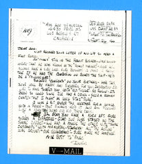 USS Clamp ARS-33 Sailor's Censored V Mail September 26, 1944