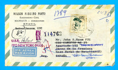 USS Holland AS-32 Brazil to USS Canopus Spain Registered May 5, 1969