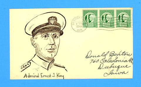 "Huss Patriotic ""Admiral Ernest J. King"" February 17, 1944"