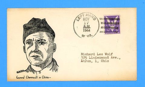 "Huss Patriotic (Goff as Artist) ""General Chennault in China"" November 17, 1944"
