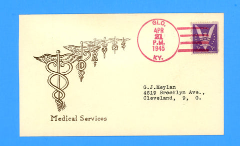 "Huss Patriotic (Goff as Artist) ""Medical Services"" April 21, 1945"