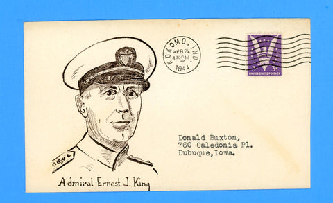 "Huss Patriotic ""Admiral Ernest J. King"" April 22, 1944"