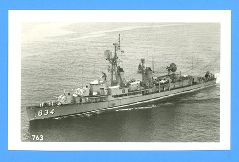 "USS Turner DD-834 [1968] - 3 1/2 x 5 1/2"" Photograph"