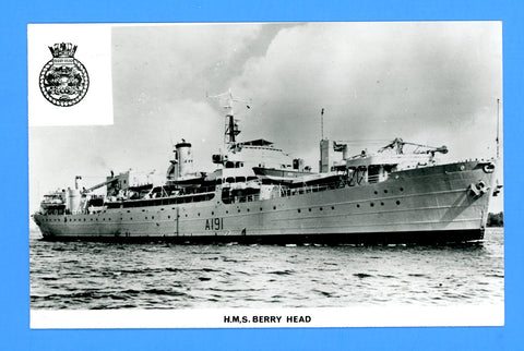 HMS Berry Head A191 Unused Postcard by Gale & Polden