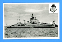 HMS Newcastle C76 Unused Postcard by Gale & Polden