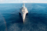 "USS Coronado LCS-4 South China Sea May 11, 2017 - 3 X 5"" Photograph"
