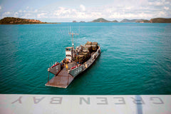 SATTAHIP, Thailand (Feb. 24, 2017) Landing craft utility 1666 embarks the well deck of the amphibious transport dock ship USS Green Bay (LPD 20)
