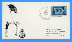 USS Wyandot AKA-92 May 13, 1947 - Scarce Eric Lewis Photographic Cachet