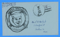 "Huss Patriotic (Goff as Artist) ""United State Navy"" Free Frank April 20, 1946"
