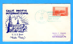 USS Brant AM-24 California Pacific International Expo September 5, 1935