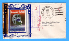 "Army Chaplain's Free Mail APO 512 Algiers, Algeria, Cancelled APO 537 Bizerte, Tunisia ""Someone Talked"" December 20, 1943 - Patriotic Cover by Artists for Victory"