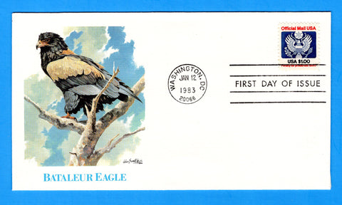 $1 Official Mail First Day Cover by Fleetwood