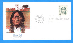 Sitting  First Day Cover by Fleetwood