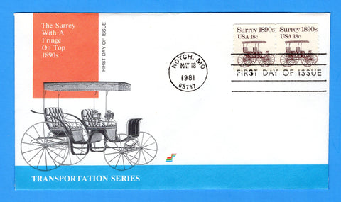 Surrey 1890s First Day Cover by Spectrum Covers