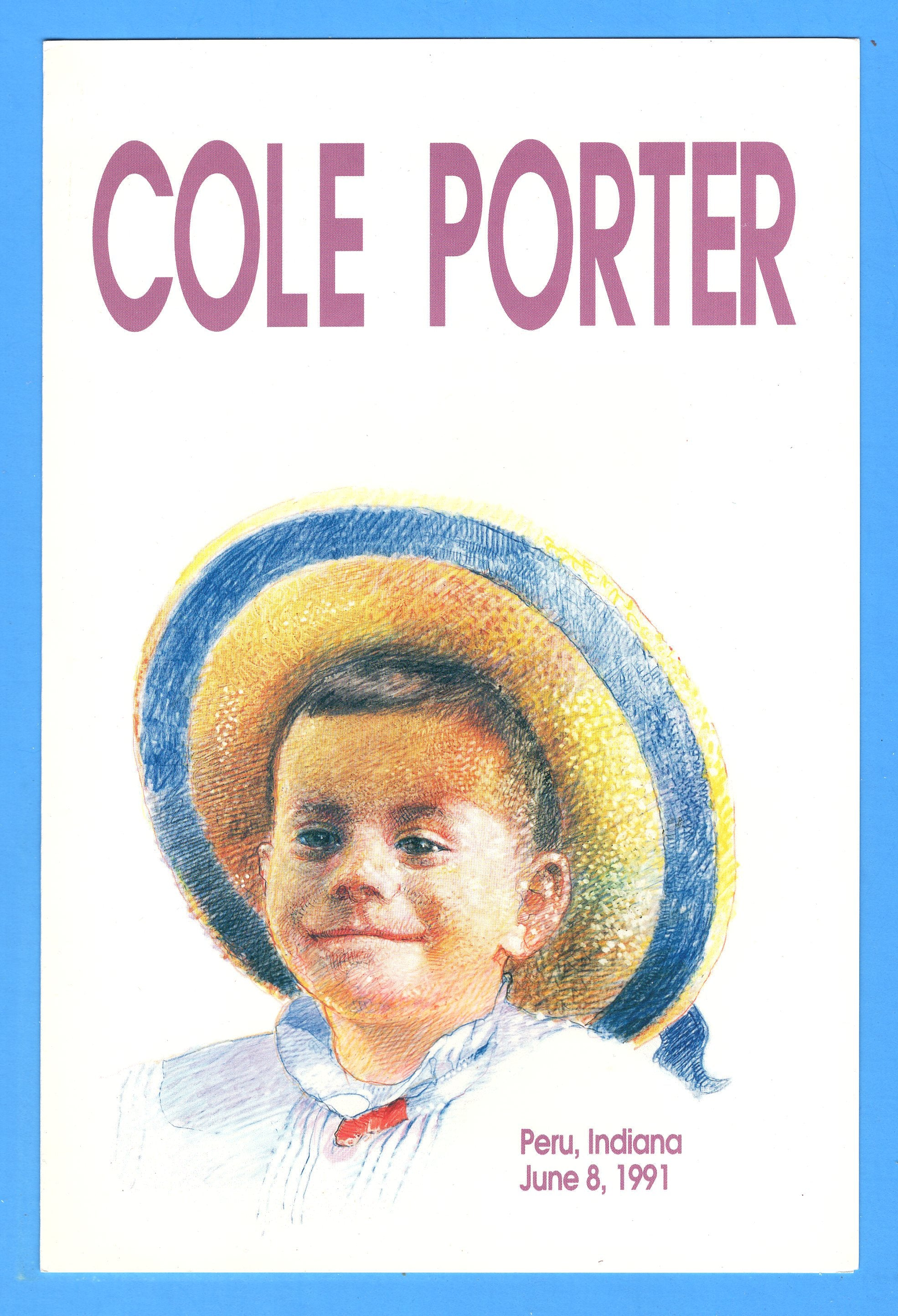 Cole Porter First Day Program