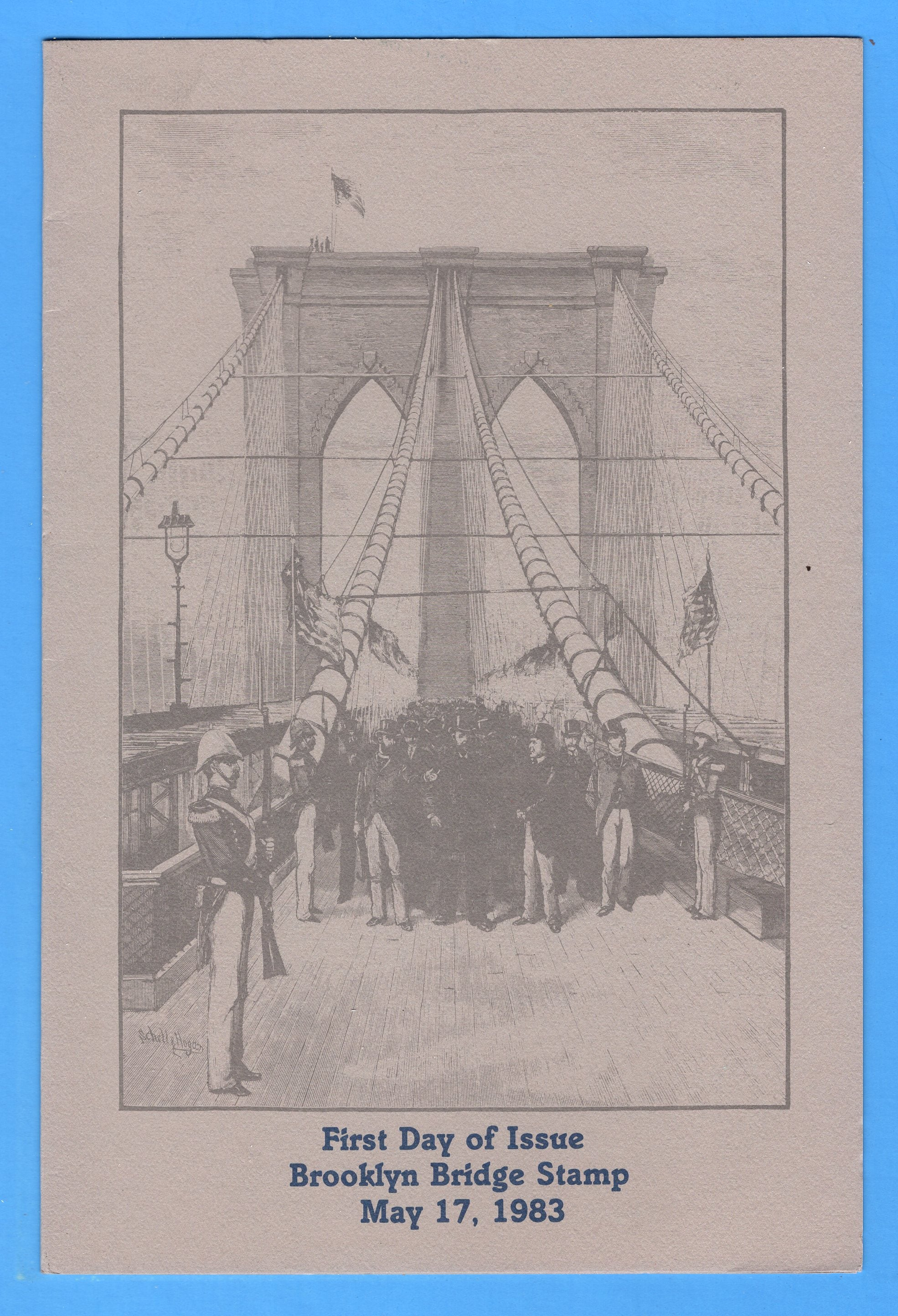 Brooklyn Bridge First Day Program