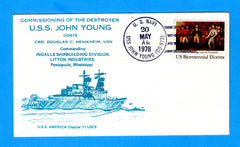 USS John Young DD-973 Commissioned May 20, 1978