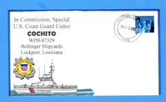 USCGC Cochito WPB-87329 In Commission, Special January 23, 2001 - Hand Drawn and Colored Cachet by Bill Everett