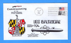USS Baltimore SSN-704 Commissioned July 24, 1982