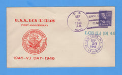 USS LCS(L)(3) 48 First Anniversary of VJ Day September 2, 1946