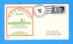 USS Bradley DE-1041 Commissioned May 15 (1965) - Beck B512