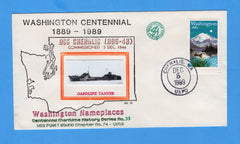 USS Chehalis AOG-48 Anniversary of Commissioned (1944) December 5, 1989