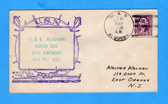 USS Algorma AT-34 16th Birthday May 15, 1936