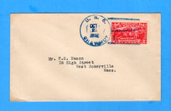 USS Shawmut CM-4 (Sunk as USS Oglala at Pearl Harbor) Sailor's Mail October 21, 1927