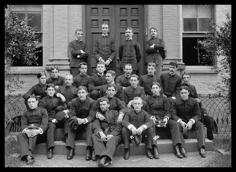 "A Group of cadets, U.S. Naval Academy [between 1890 and 1901] Detroit Publishing Co. - 5 x 7"" Photograph"