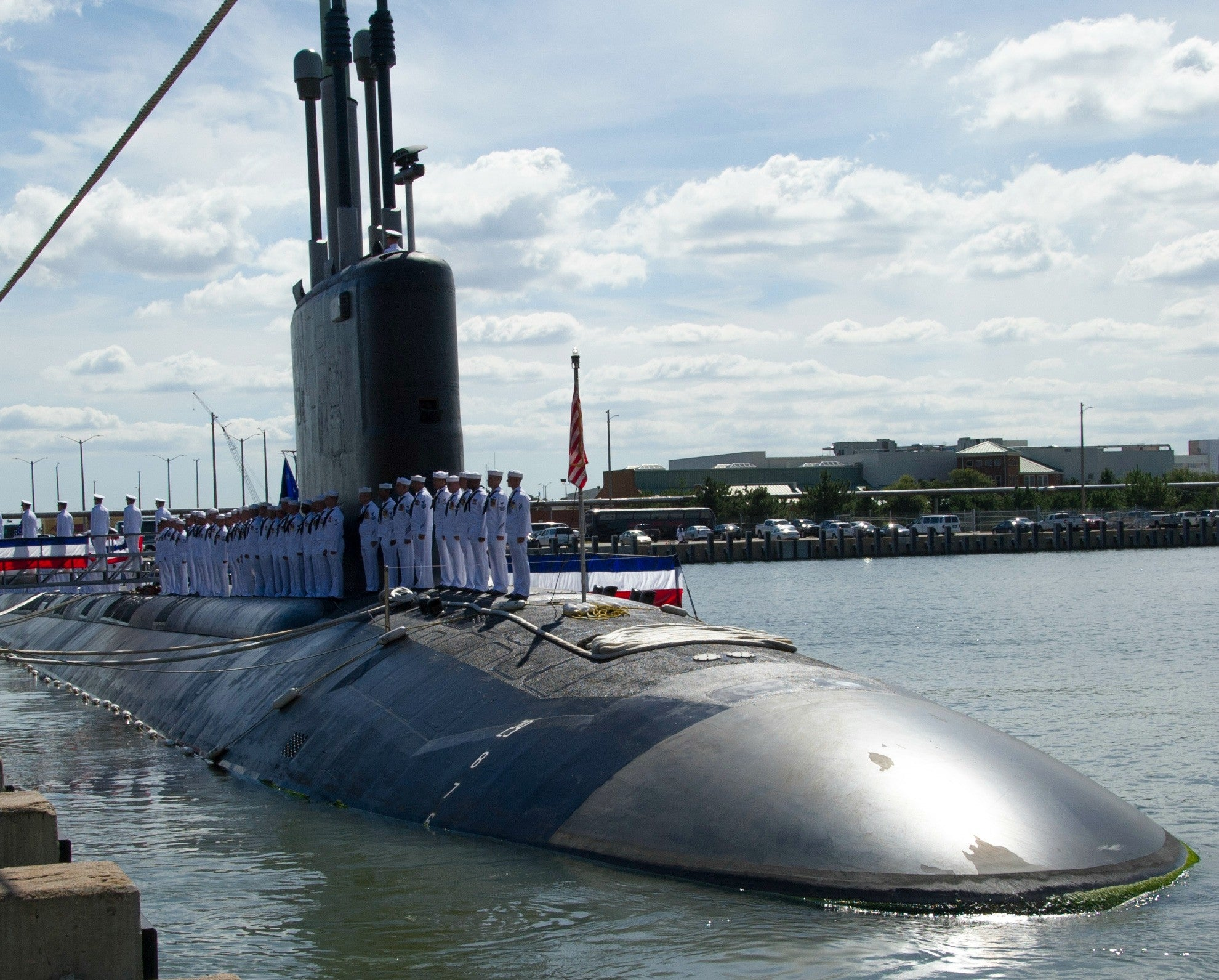 "Submarine USS Minnesota SSN-783 Norfolk, VA September 7, 2013 - 8 x 10"" Photograph"