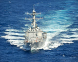 "USS Chung-Hoon DDG-93 Pacific Ocean July 18, 2012 - 8 x 10"" Photograph"