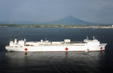 "Military Sealift Command Hospital Ship USNS Mercy T-AH 19 Manado, Indonesia June 6, 2012 - 8 x 12"" Photograph"