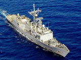 "USS Reuben James FFG-57 Pacific Ocean June 20, 2011 - 8 x 10"" Photograph"