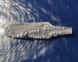 "USS Harry S. Truman CVN-75 5th Fleet Area of Responsibility July 9, 2010 - 8 x 10"" Photograph"