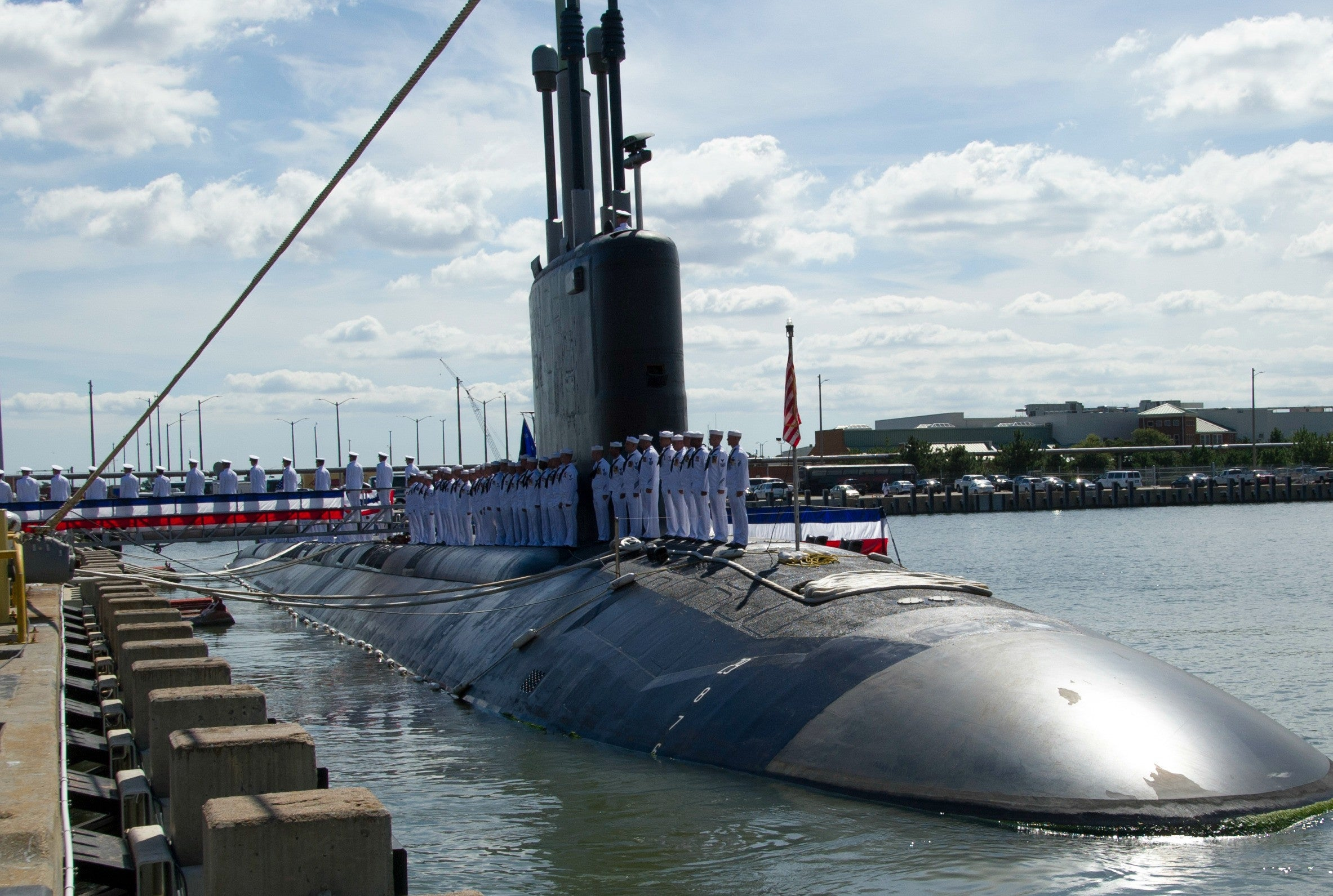 "USS Minnesota SSN-783 Norfolk, VA September 7, 2013 - 8 x 12"" Photograph"