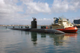 "USS Topeka SSN-754 San Diego October 16, 2007 - 8 x 12"" Photograph"
