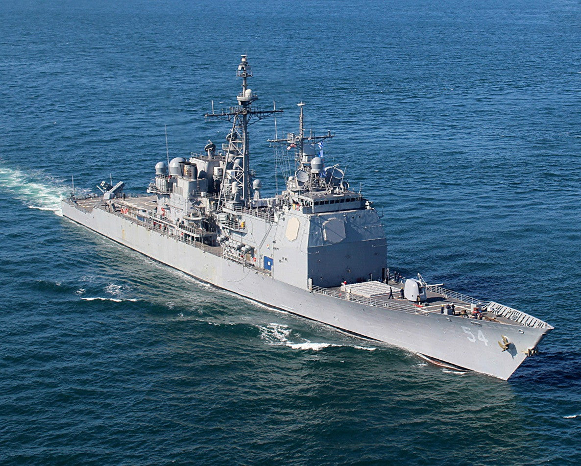"USS Antietam CG-54 Yokosuka, Japan September 15, 2013 - 8 x 10"" Photograph"