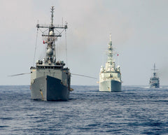 "2013 UNITAS Multinational Maritime Exercise Caribbean Sea September 8, 2013 - 8 x 10"" Photograph"